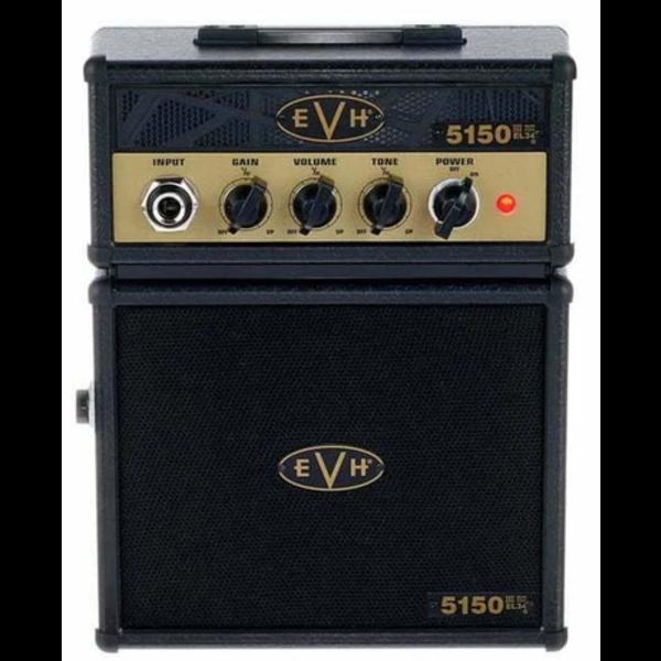EVH 5150III EL34 Micro Stack, Black and Gold