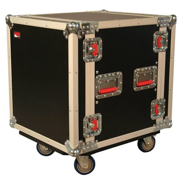 "Gator Gator G-TOUR12UCA-24D 12U, 24"" Deep Audio Road Rack Case w/ Casters"