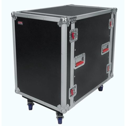 "Gator G-TOUR16UCA-24D 16U, 24"" Deep Audio Road Rack Case w/ Casters"