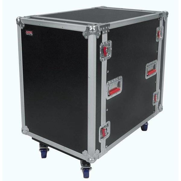 "Gator Gator G-TOUR16UCA-24D 16U, 24"" Deep Audio Road Rack Case w/ Casters"