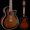 Ibanez AEG1812IIDVS 12-String, Dark Violin Sunburst 334 5lbs 5.7oz