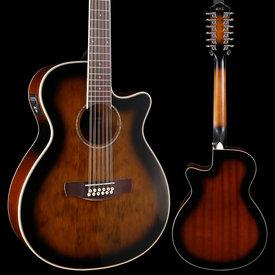 Ibanez Ibanez AEG1812IIDVS 12-String, Dark Violin Sunburst 334 5lbs 5.7oz