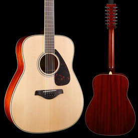Yamaha Yamaha FG820-12 Natural Folk Guitar Solid Top 12-String 063 4lbs 15.2oz