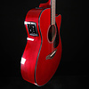 Yamaha FSX800C RR Ruby Red Small Body Acoustic Electric, Solid Tp 561 4lbs 4.8oz