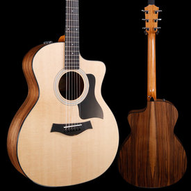 Taylor Taylor 2019 114ce Walnut/Sitka Grand Auditorium Acous-Elec S/N 2102229192 USED