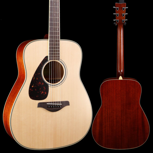 Yamaha Yamaha FG820L Natural Folk Solid Top Left-Handed 538 4lbs 3.8oz