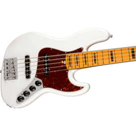 Fender Fender American Ultra Jazz Bass V, Maple Fingerboard, Arctic Pearl