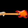Fender American Ultra Jazz Bass V, Maple Fingerboard, Plasma Red Burst