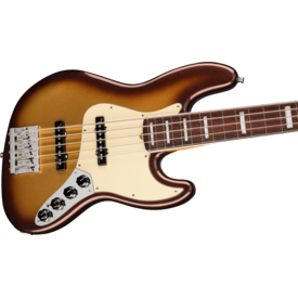 Fender Fender American Ultra Jazz Bass V, Rosewood Fingerboard, Mocha Burst