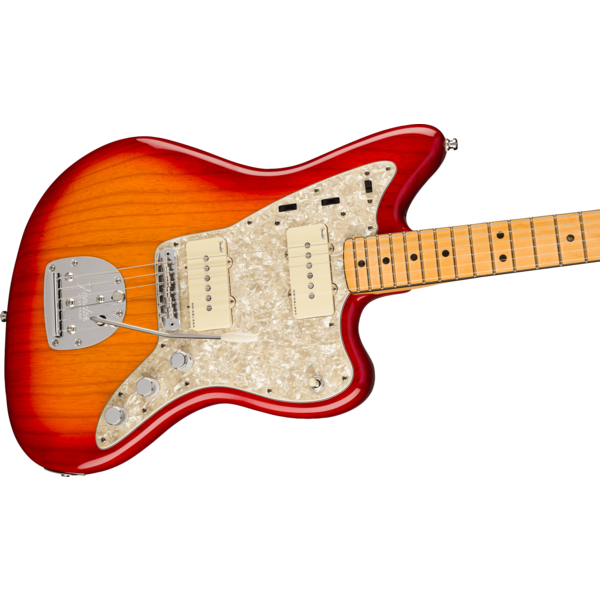 Fender Fender American Ultra Jazzmaster, Maple Fingerboard, Plasma Red Burst