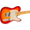 Fender American Ultra Telecaster, Maple Fingerboard, Plasma Red Burst