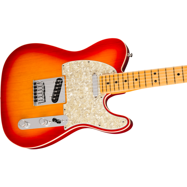 Fender Fender American Ultra Telecaster, Maple Fingerboard, Plasma Red Burst