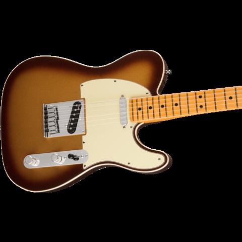 Fender American Ultra Telecaster, Maple Fingerboard, Mocha Burst