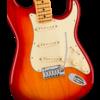 Fender American Ultra Stratocaster, Maple Fingerboard, Plasma Red Burst