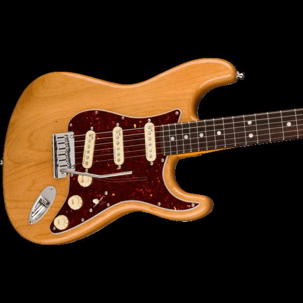 Fender Fender American Ultra Stratocaster, Rosewood Fingerboard, Aged Natural