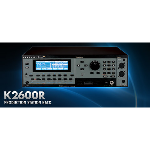 Kurzweil K2600R Rackmount Sample Player Workstation w 32-Track Sequencer, KDFX