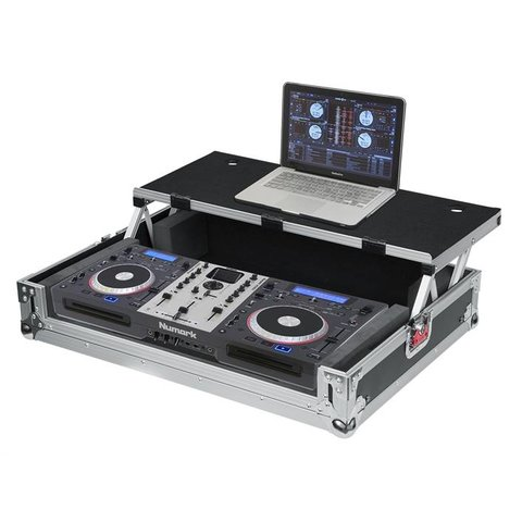 Gator G-TOURDSPUNICNTLB G-TOUR DSP case for medium size DJ controller