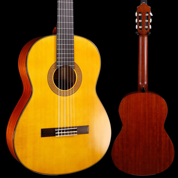 Yamaha Yamaha CG142SH Classical Guitar Spruce Top Lower Action 267 3lbs 4.5oz
