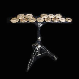 Zildjian Cymbals Zildjian High Octave Crotales Set w Stand
