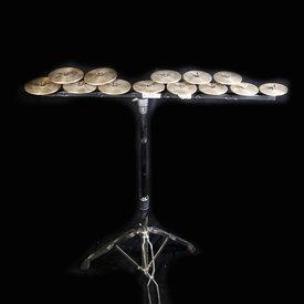 Zildjian Cymbals Zildjian Low Octave Crotales Set w Stand