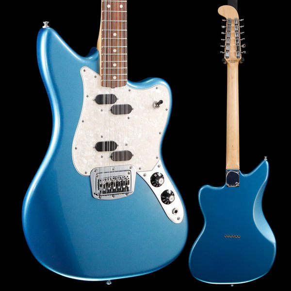 Fender Fender Electric XII, Pau Ferro FB, Lake Placid Blue MX19108600 8lbs 2.9oz