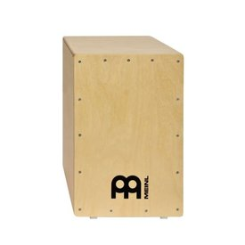 Meinl Cymbals Meinl Percussion Cajon w Dual Snares, Natural, Birch Wood, Headliner Series