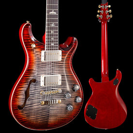 PRS PRS Paul Reed Smith Ltd Ed McCarty 594 Semi-Hollow 10 Top Charcoal Cherry 218