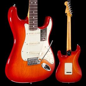 Fender Fender American Ultra Stratocaster Rw Fb, Plasma Red Burst US19082182 7lbs 14.3