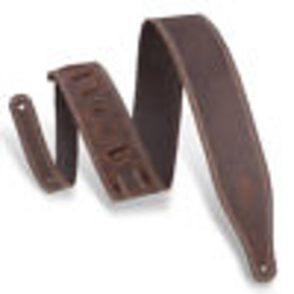 "Levy's Leathers Levy's M17BDS-DBR 2.5"" Wide Garment Leather Guitar Strap"