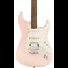 Squier Bullet Stratocaster HSS Hard Tail, Laurel Fingerboard, Shell Pink