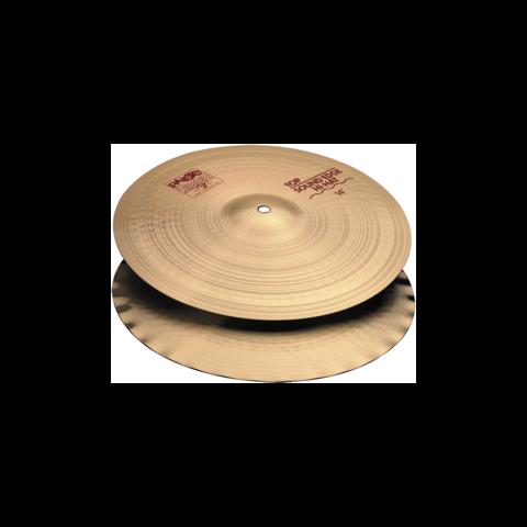 "Paiste 15"" 2002 Sound Edge Hi-Hit Cymbals"