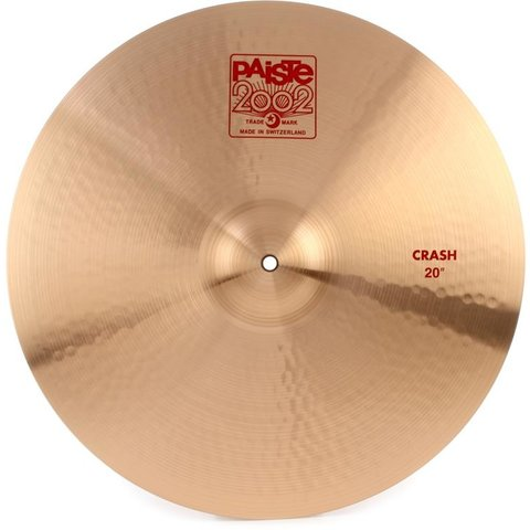 "Paiste 20"" 2002 Crash Cymbal"