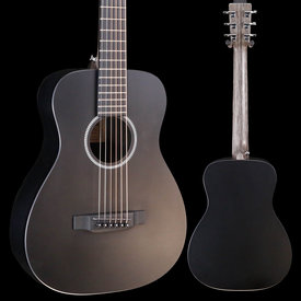 Martin Martin LX BLACK Lefty New Little Martin w/ Deluxe Bag 170 3lbs 9.5oz