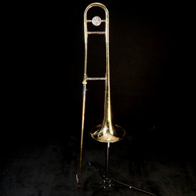 Melody Music Shop LLC Bach 643649 TB301 USED Trombone w Case but no mouthpiece NEEDS SOLDERING