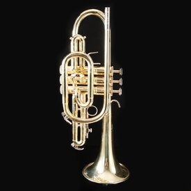 Bach Bach E65044 CR300 USED Cornet w Case but no moutpiece