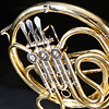 Yamaha 002268 USED YRH-314II Single French Horn w Case no mouthpiece