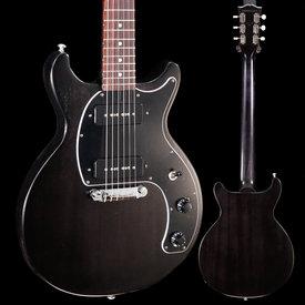 Gibson Gibson LPSDT00WECH1 Les Paul Tribute DC 2020 Worn Ebony 019 6lbs 11.1oz