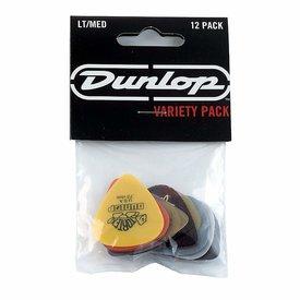Jim Dunlop Dunlop Player's Pack Guitar Pick Variety Pack LT-MD 12 Pc