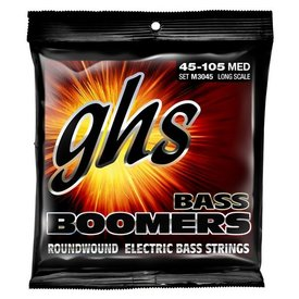 GHS GHS M3045 Med Bass Strings 45-105