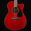 Yamaha FSX800C RR Ruby Red Small Body, Solid Top 535 4lbs 6.4oz