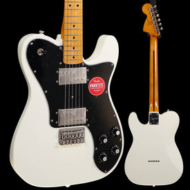 Squier Squier Classic Vibe '70s Telecaster Deluxe, Olympic White ICS19165319 7lbs 7.5oz