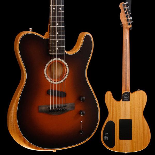 Fender Fender American Acoustasonic Telecaster, Sunburst US197325 4lbs 7oz