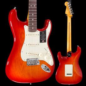 Fender Fender American Ultra Stratocaster, Plasma Red Burst US19078936 8lbs 3.1oz