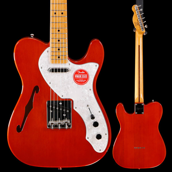 Squier Squier Classic Vibe '60s Telecaster Thinline, Maple Fb, Natural ISS199651 5lbs 8.8oz