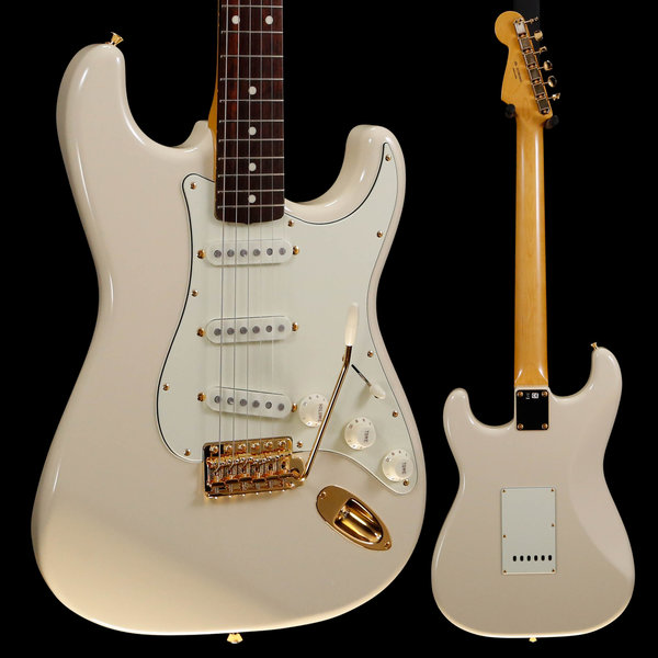 Fender Fender Ltd Ed Daybreak Stratocaster, RW Fb, Olympic White JD19010055 7lbs 15.8oz