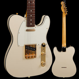 Fender Fender Ltd Ed Daybreak Telecaster, RW Fb, Olympic White JD19010773 7lbs 10.4oz