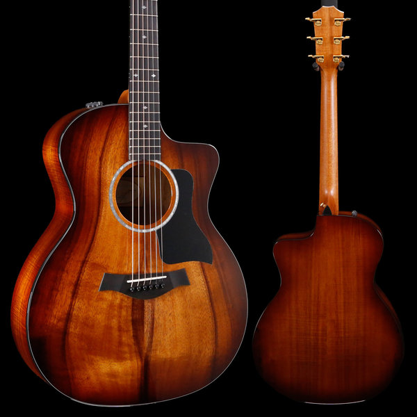 Taylor Taylor 224ce-K DLX Koa Grand Auditorium Acoustic-Electric, Shaded Edgeburst 192 4lbs 10.1oz