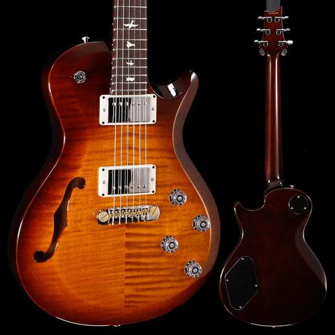 PRS Paul Reed Smith S2 Singlecut Semi Hollow Violin Amber Sunburst 383 7lbs 3.5oz