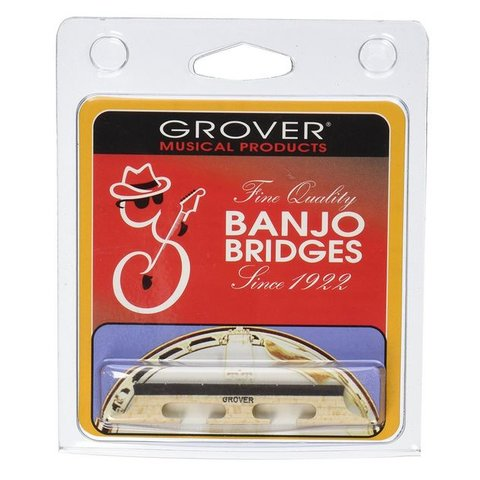 Grover 95 5-String Banjo Bridge, 1/2""