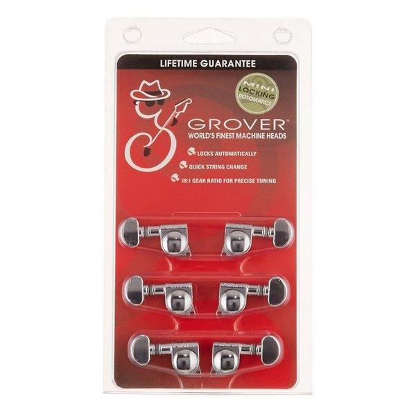 Grover Grover 406C Mini Locking Rotomatic Tuners 3+3 Chrome